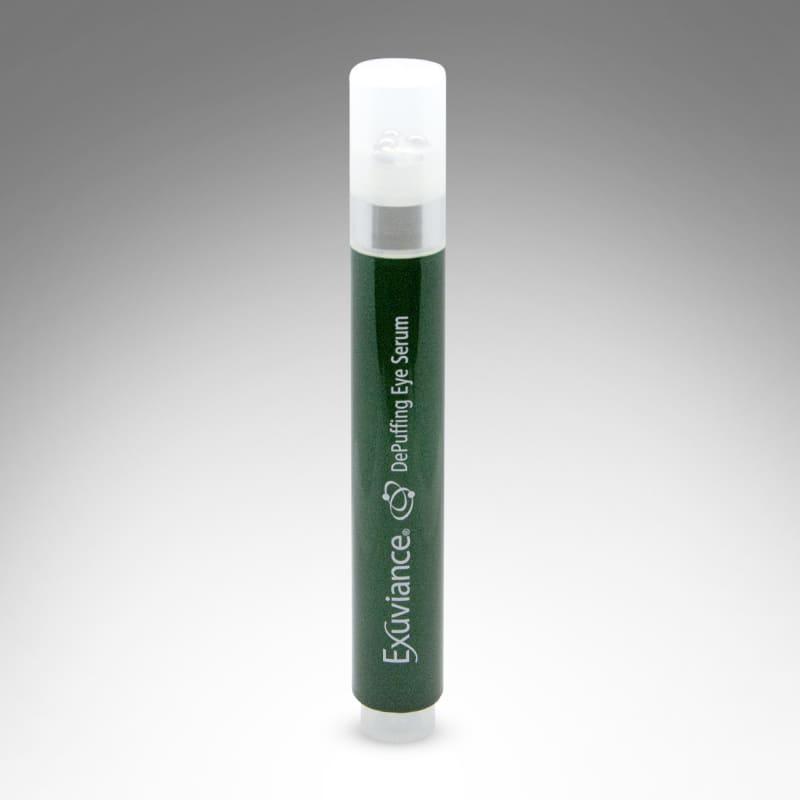 (RU) Наполняющая сыворотка для кожи вокруг глаз в тубе с роликовым аппликатором Exuviance DePuffing Eye Serum