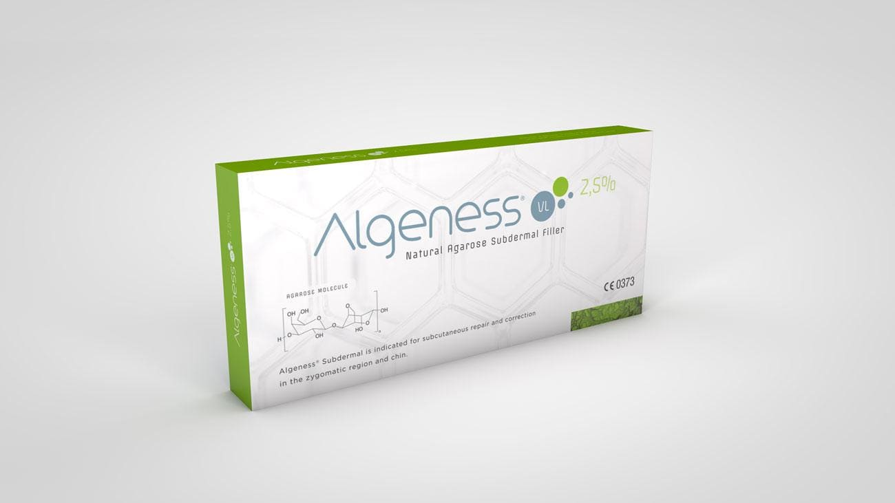 (RU) Филлер ALGENESS VL (2.5% AGAROSE + 0,5% NON-CROSSED-LINKED HA) SUBDERMAL