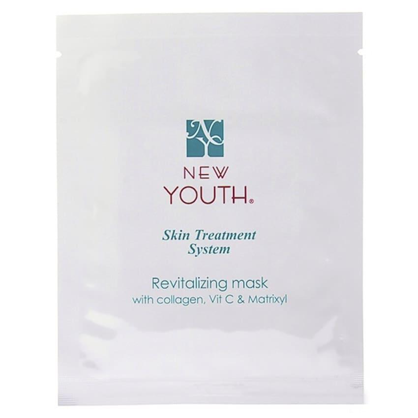 (RU) Маска коллагеновая с MAP и Матриксилом NEW YOUTH Revitalising mask with Collagen, Vit C & Matrixyl