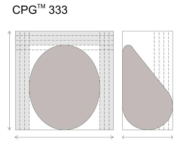 Анатомические импланты  для увеличения груди Mentor CPG 333. Большая высота. Высокая проекция