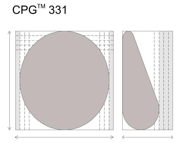(RU) Анатомические импланты для увеличения груди Mentor CPG 331. Большая высота. Средняя проекция