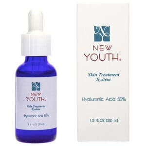 (RU) Гиалуроновая кислота 50% (нано) NEW YOUTH Hyaluronic acid 50%